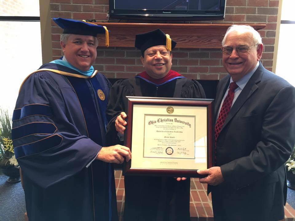 Michel Ohio University Doctorate