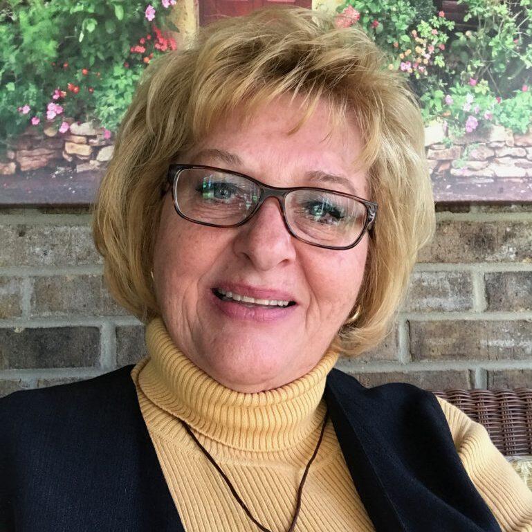 Marj Kelly, board member, bio, photo, 2017